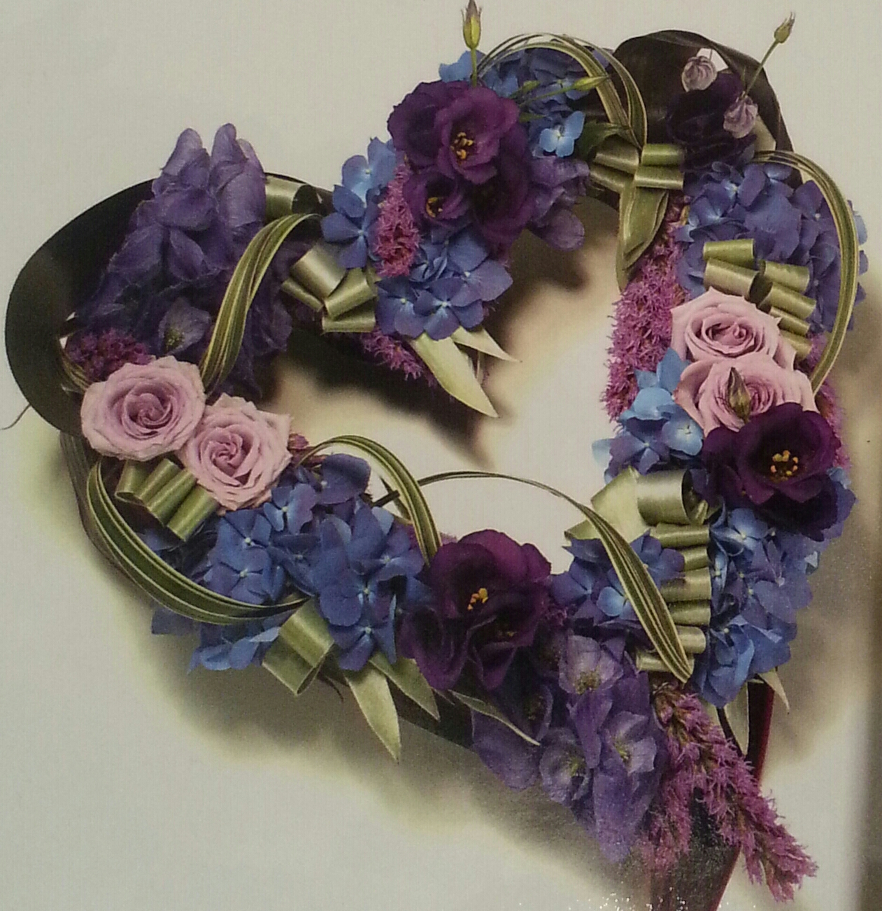 Eileen Jenkins mauve combination open modern heart