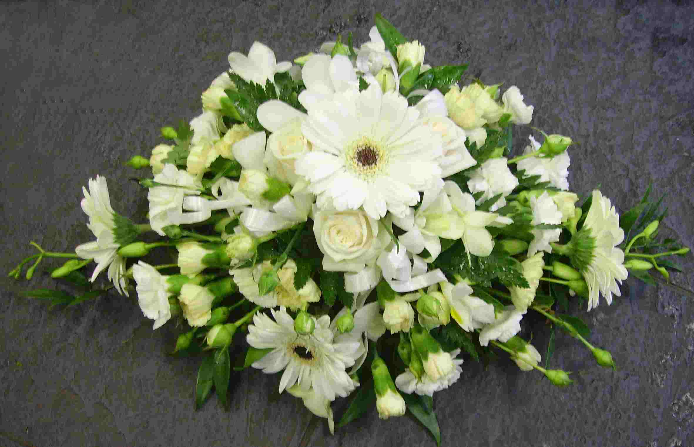 Eileen Jenkins White Table Arrangement