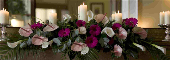 Top Table Wedding Arrangement