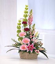 Fresh Wicker Arrangement