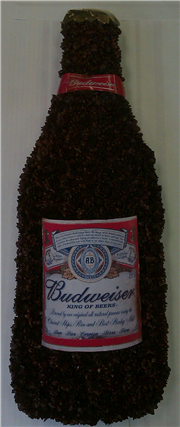 budweiser bottle tribute