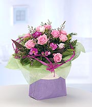 Shades Of Pink Boxed Arrangement