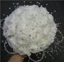 Pure white Preserved Rose Bouquet