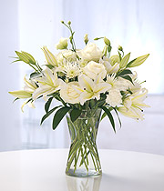 Mixed Ivory flowers
