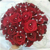 All Red Rose Bridal Compact