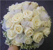 Brides All Rose hand tied
