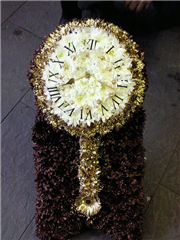 Mahogony Wall Clock