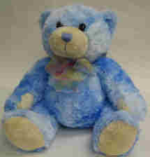 Eileen Jenkins Blue Teddy Bear